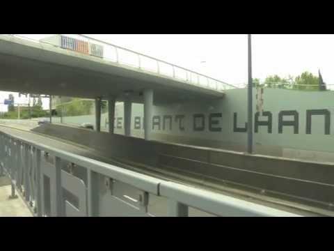 Werkzaamheden tegels tunnel Laan der Verenigde Naties