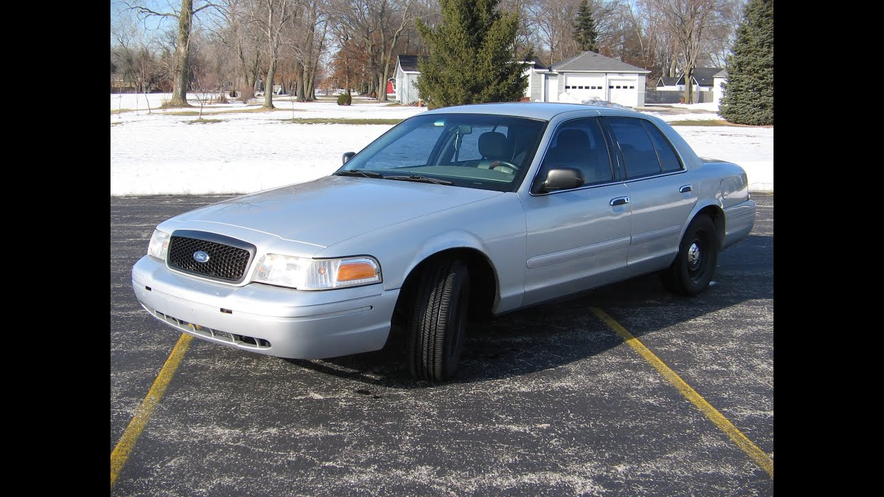 Ford Crown Victoria P Shoulder Merge