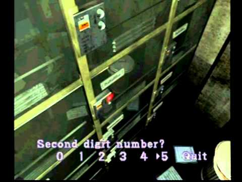 Resident Evil 3 Nemesis Police Station Number Lock Guide Youtube