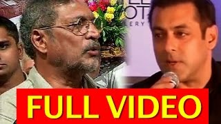 Nana Patekar's Strong Reaction to Salman Khan & Bollywood actors for supporting Pakistani artists