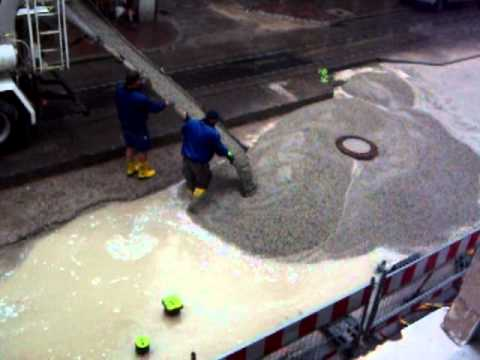 Image result for Concrete Pouring During the Rain