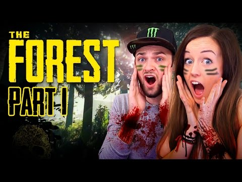THE FOREST!!! - CO-OP WITH ALI! (Episode #1 - Can we survive!?)