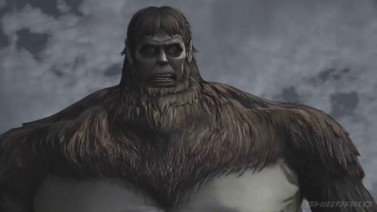 Attack on Titan (PS4) - All Beast Titan Fights (Zeke, Ape ...