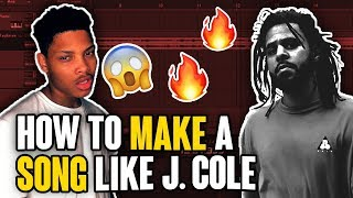 How to Make a HIT Song like J. Cole in 10 Min