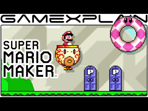 New Features Update 1.30 Tour in Super Mario Maker (+ All 4 Themes!)