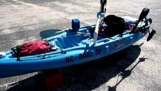 how to install a trolling motor on a fishing kayak part 2