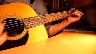 "RENAUD  ""Ma Gonzesse ""  leçon de guitare"