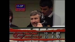 1992 Second Semi Final - West Coast vs Geelong