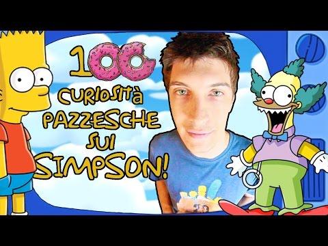 100 curiosit PAZZESCHE sui SIMPSON
