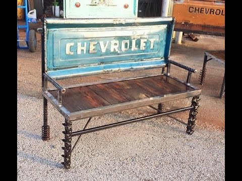 Upcycled Garden Furniture Ideas Scrap Metal Art By Raymond