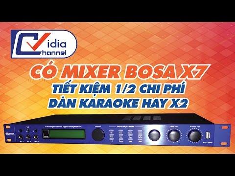 Vidia Channel - Mixer karaoke giúp dàn karaoke hát hay gấp 2 lần.