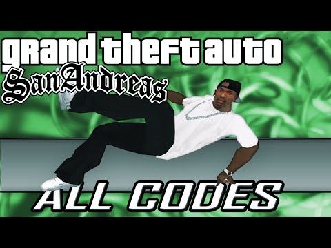 GTA San Andreas - ALL CHEATS + Demonstration [PC/PS2/PS3/Xbox/Xbox360]