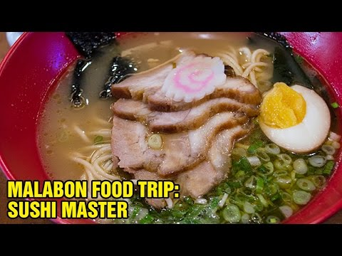 Sushi Master Japanese Restaurant in Malabon City