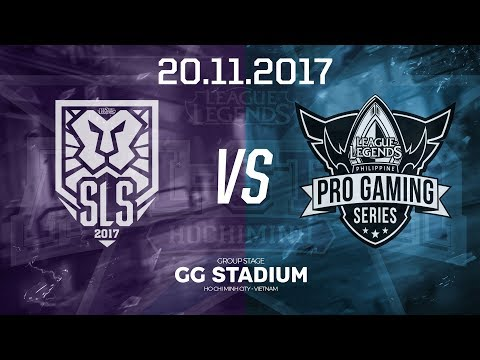 [20.11.2017] Singapore vs Philippines [Group Stage][AllStar 2017]