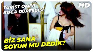 Turist Ömer Boğa Güreşçisi - Seni Mesut Kızı Yapmaya Geldim  Sadri Alışık Eski Türk Komedi Filmi