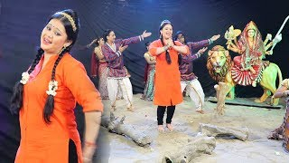 अनु दुबे का सबसे हिट देवी गीत 2017 - Leke Baghawa Aail Baduwe - Jai Maa Bhawani - Anu Dubey