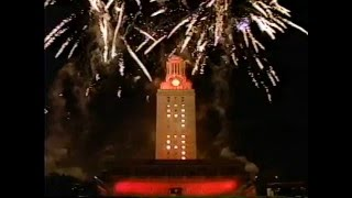 Airport change announcement after The University of Texas at Austin Spring commencement 1999