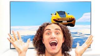 GAMING ON WORLD'S BIGGEST MONITOR! (Vlog)