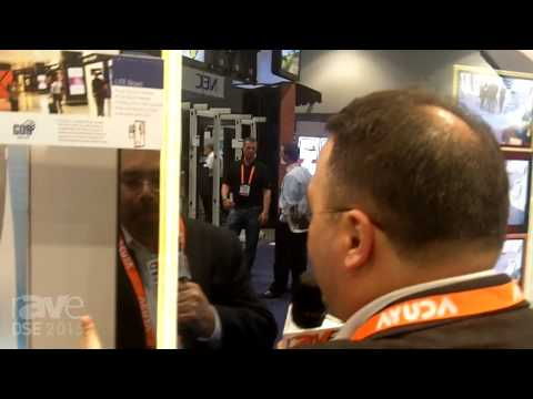 DSE 2015: GDS Displays Demos Cool LITE Bravo 70-Inch Display With Mirror Finish, Proximity Sensor