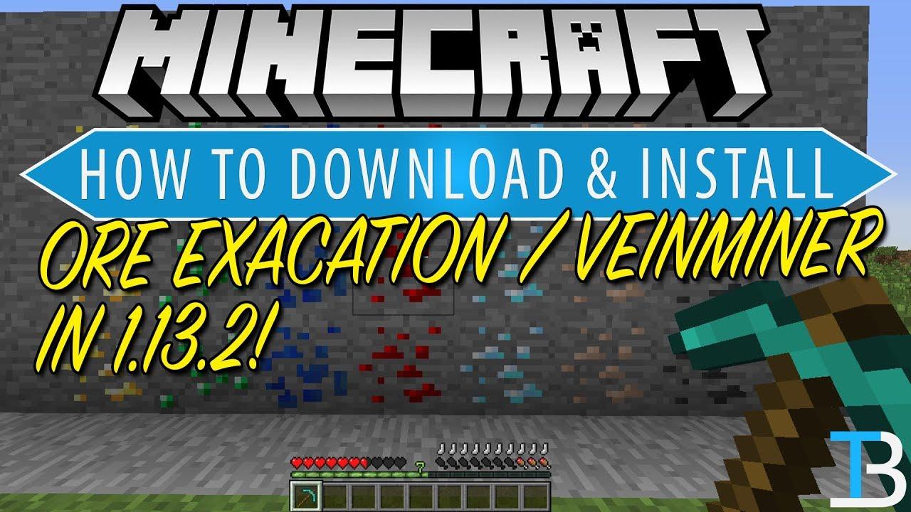 Minecraft ore excavation 1 12 2 | Ore Excavation Mod for