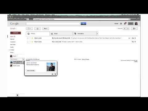 How To Live Chat In Gmail : Internet Tech Tips