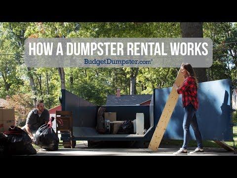 How A Dumpster Rental Works | Budget Dumpster
