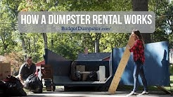 How A Dumpster Rental Works | Budget Dumpster