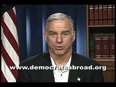 Gov. Howard Dean Urges Democrats Abroad to Vote
