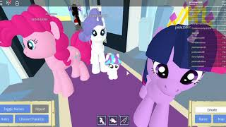 Roblox MY LITTLE PONY FUN