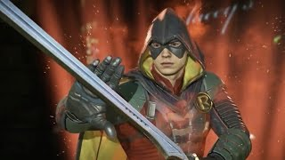 Injustice 2: Robin Gameplay Reveal Trailer (1080p 60fps)