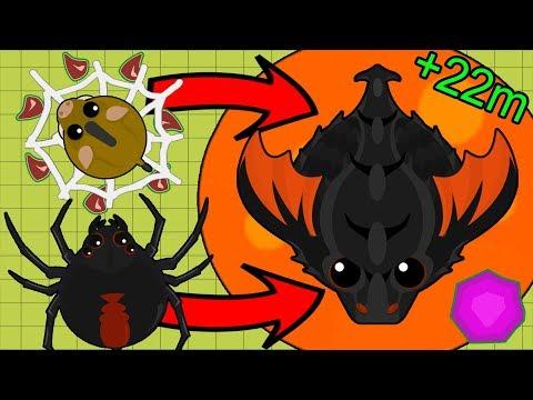 Mope.io 22 MILLION XP in 1 SECOND! NEW HACKER KING DRAGON WORLD RECORD // INSANT BLACK DRAGON GLITCH
