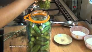 Маринованные огурцы / How to make Pickled cucumbers ♡ English subtitles
