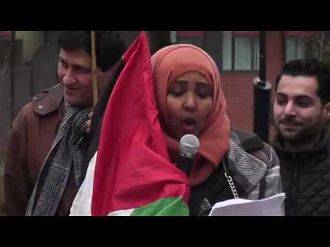 Stand up for Palestinian Students' Rights, Emergency Protest, Sheffield 20/3/18