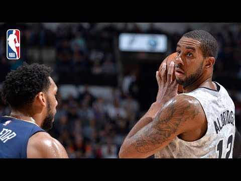 SPURSWATCH - Spurs beat Pelicans, 113-108