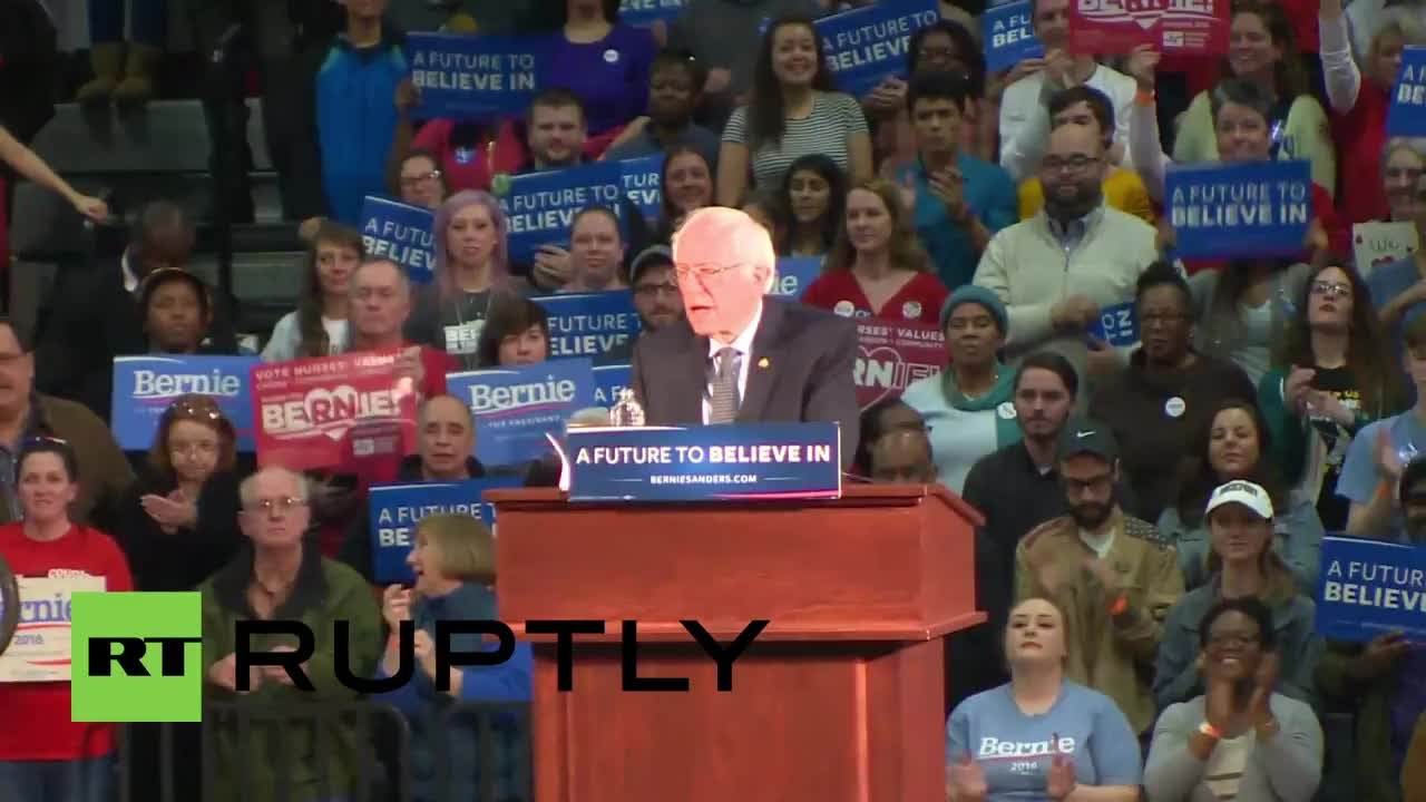 Sanders: 'It is time for Massachusetts to lead the political revolution'