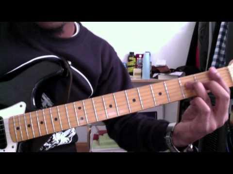 I Give Myself Away Guitar Tutorial