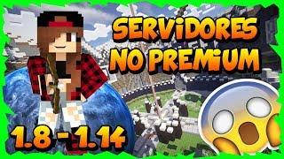 ⚠️Todos los servidores para Minecraft 1.8 - 1.14 NO PREMIUM SIN LAG con Skywars Eggwars y más 2020😱