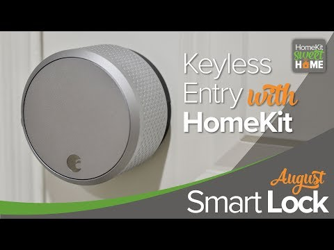 August Smart Lock - A Smart HomeKit Lock