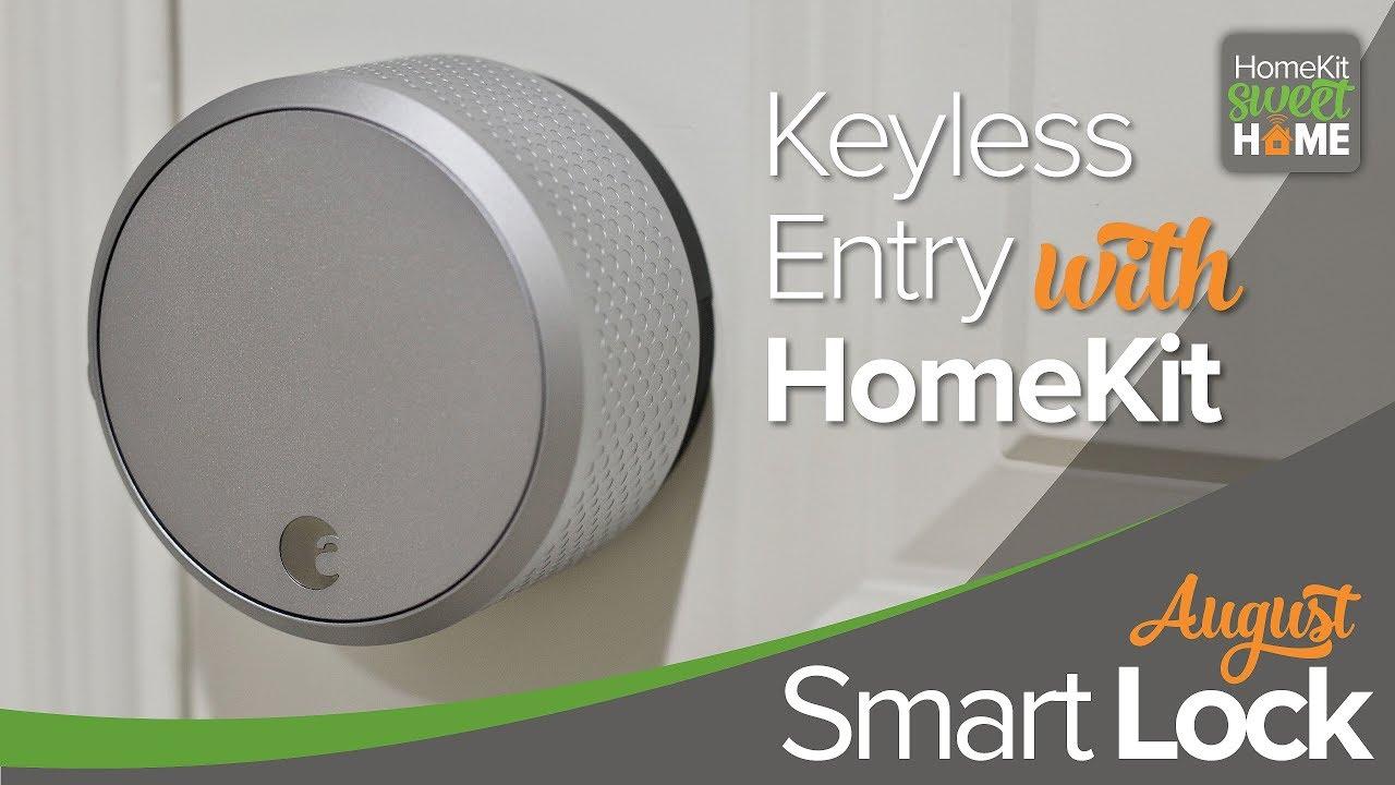 August Smart Lock A Homekit