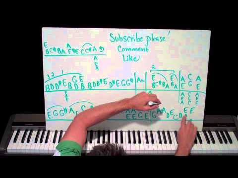 Piano Lesson Black Dog by Led Zeppelin Shawn Cheek Tutorial