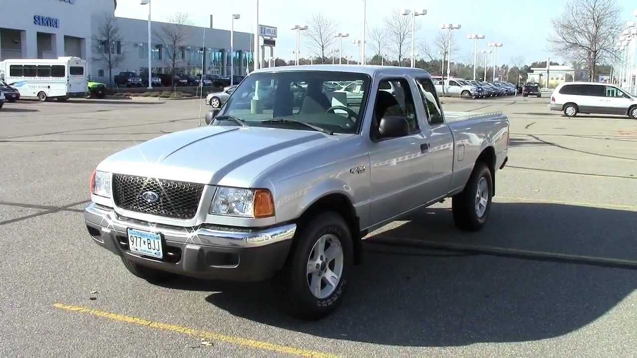 2000 Ford Ranger Supercab >> 2003 Ford Ranger SuperCab XLT 4x4 - YouTube