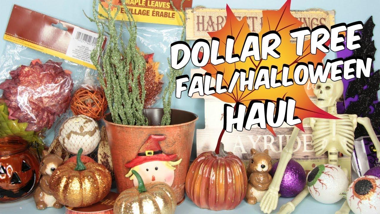 dollar tree fallhalloween haul 2017 - Dollar Tree Halloween