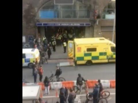 "Breaking: ""Chaos London Bridge EVACUATED Armed Police Rush To Scene"""