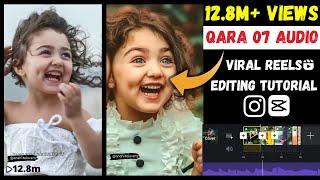 Qara 07 reels editing Tutorial Kavkaz Orginal Bass 2 Sound reels Editing Tutorial   CAPCUT app