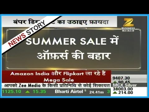 Summer Sale commences on online markets; Flipkart and Amazon shower heavy discounts