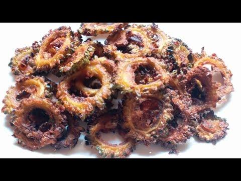 Bitter Gourd Fry    Crispy Karela Fry Recipe