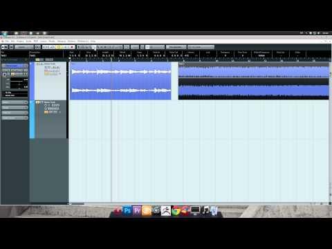 Cubase 6.5 Tutorial - 4: Editing Audio Clips (Basic)