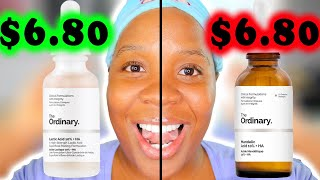 The Ordinary Lactic Acid vs. The Ordinary Mandelic Acid!