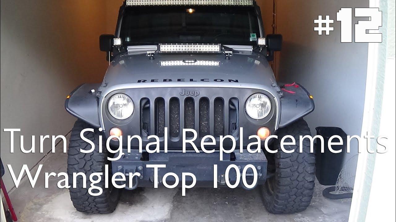 How To Install New Turn Signal Bulbs Jeep Wrangler Jk