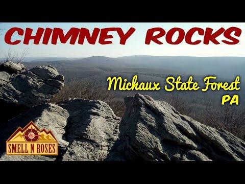 Appalachian Trail to Chimney Rocks, Michaux State Forest, Pennsylvania